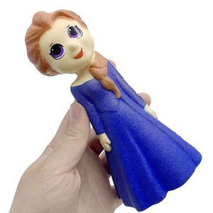 Jumbo Kawaii Aisha Snow White Princess Squishy Girl Toy Slow Rising Scented Simulation Stress Relief Funny Gift Toy for Children