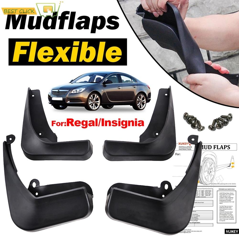XUKEY Set Molded Mud Flaps For Mondeo mk5 2015-on Mudflaps Splash Guards Flap Mudguards Front Rear 4pcs