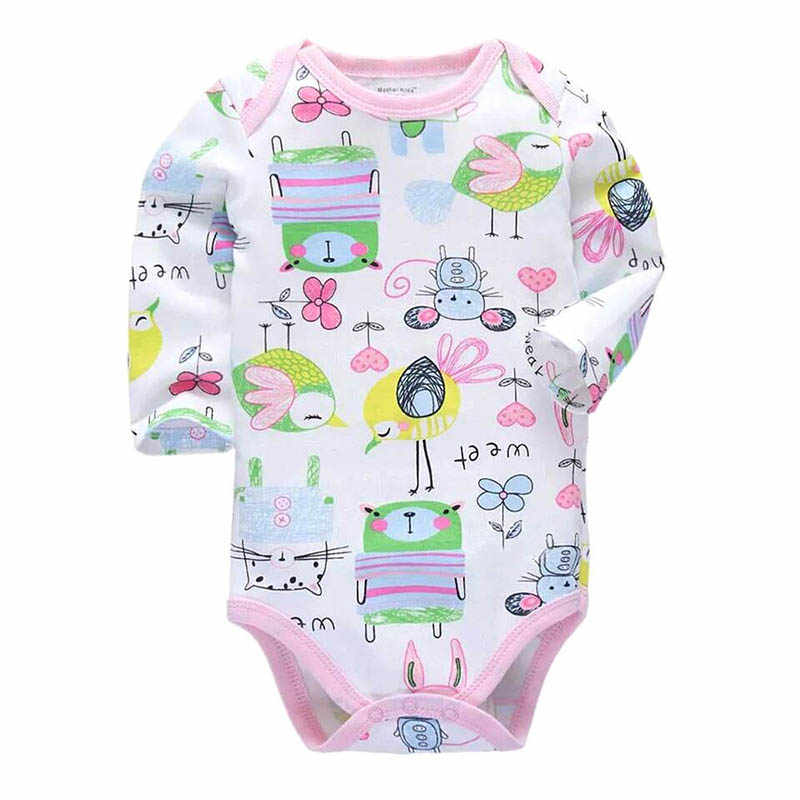 100% Cotton Baby Bodysuit Newborn Cotton Body Baby Long Sleeve Underwear Infant Boys Girls Clothes Baby's Sets