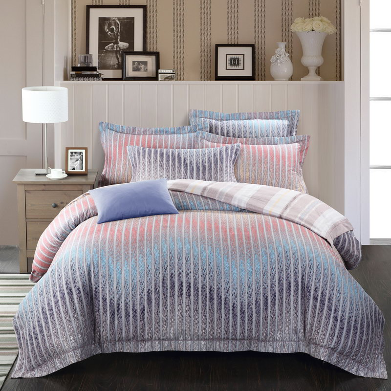100 Pima Cotton Bedding 4pcs Queen King Beautiful Bedding