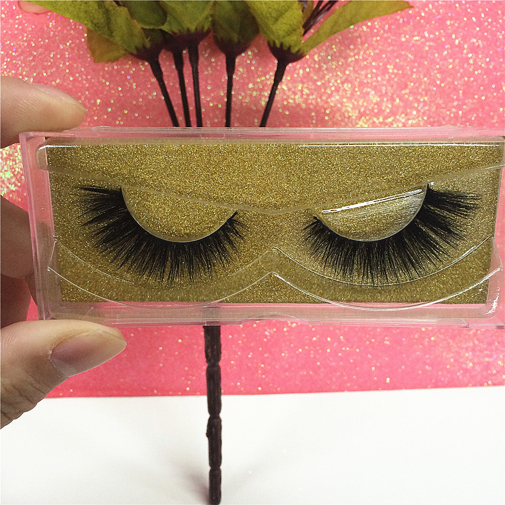3D Mink Eyelashes Extension 10 Pairs of Natural False Eyelash 3D Eyelash Extensions Eyelash Perm Wimper Extensions Free Shipping