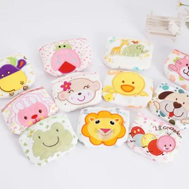 Baby Cotton Training Pants Panties Baby Diapers Reusable Cloth Diaper
