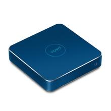 Безвентиляторный мини-компьютер Intel озеро Аполлон N4200 4 ГБ DDR3L Оперативная память + 120 ГБ SSD Mini HDMI ТВ коробка