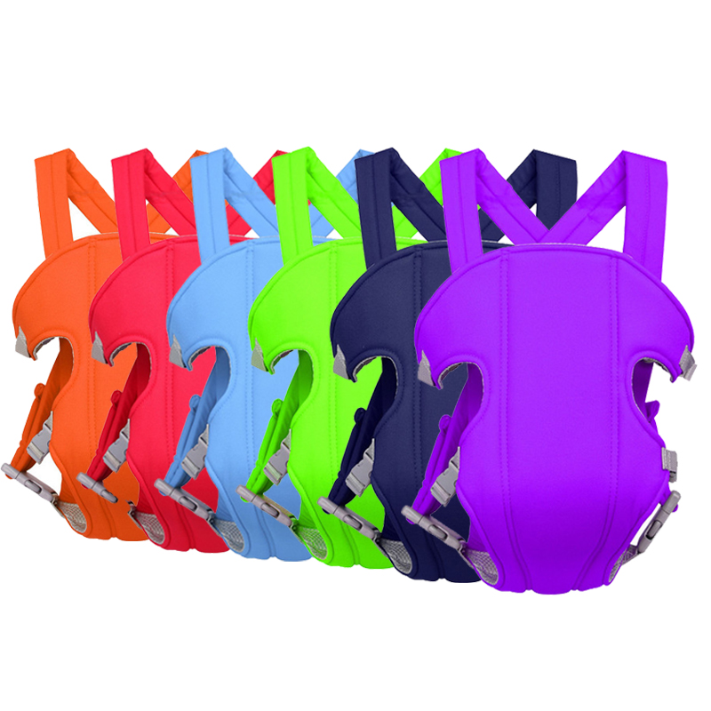 6 Colors Ergonomic Baby Carrier Infant Kid Baby Hipseat Sling Front Facing Kangaroo Baby Wrap Carrier for Baby Travel 0-36M