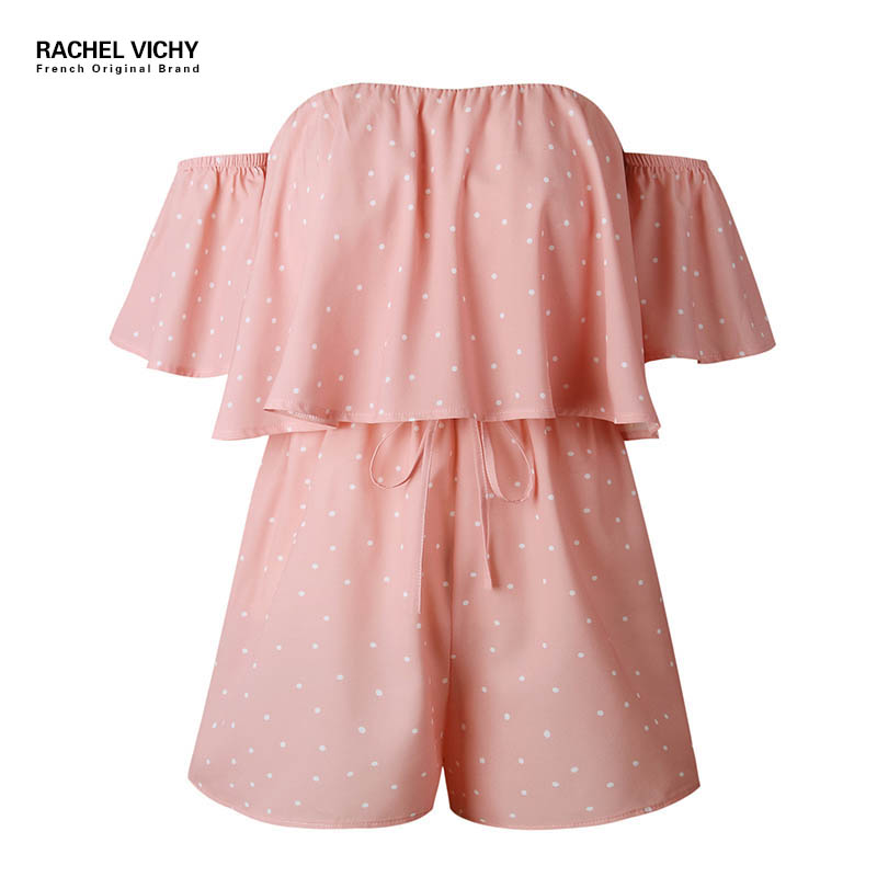 Vichy Spaghetti Strap Jumpsuits Summer Women Beach bodysuit zaful sexy party clothes sexy shein female romper playsuits RV0132