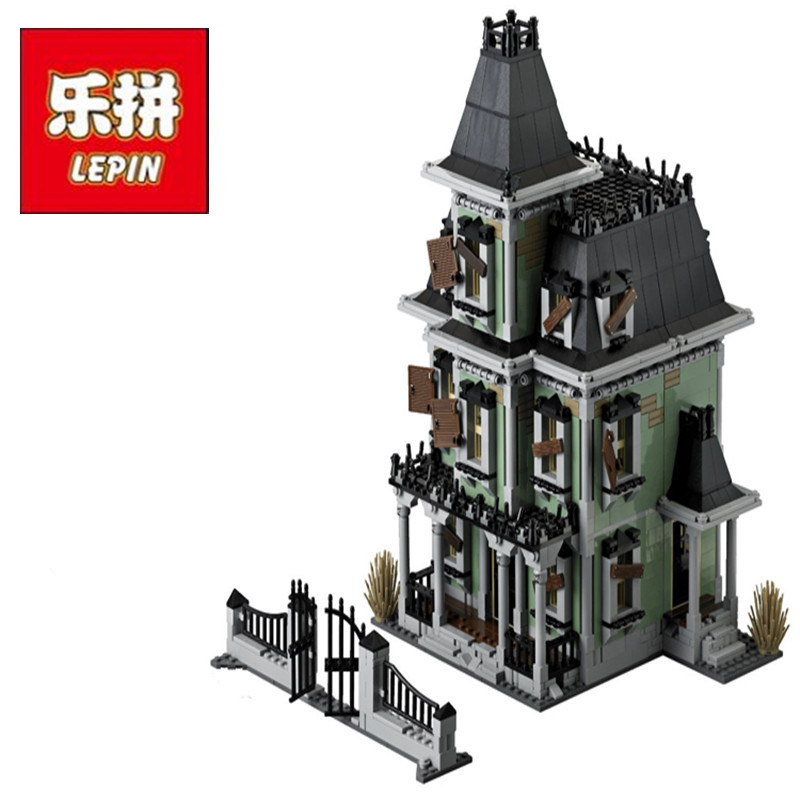 Lepin 16007 2141Pcs Monster fighter The haunted house Model set Building for Kit DIY Educational Gift Compatible With 10228 куплю москвич 2141 в костроме