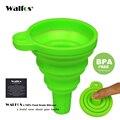 WALFOS qualité alimentaire 1 pièce Mini Silicone Gel Pliable Pliable Style Entonnoir Trémie Cuisine jardin accessoires de cuisine outils