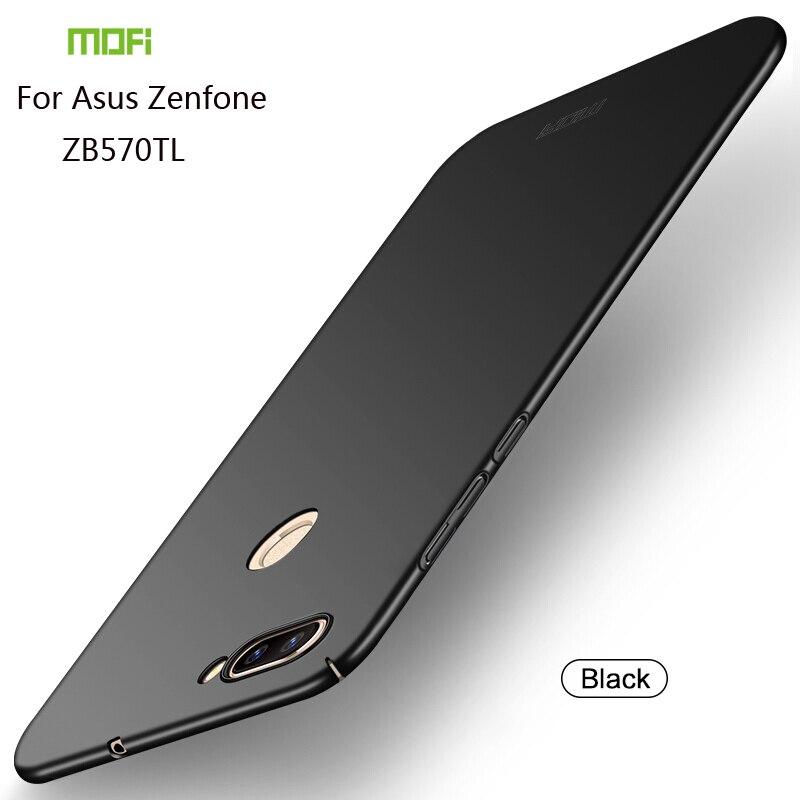 Pour Asus Zenfone Max Plus M1 ZB570TL Couverture Cas MOFI PC Hard Case Pour Asus Zenfone Max Plus ZB570TL Téléphone shell