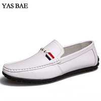 2017 Summer Loafers Men Shoes Casual PU Leather Flats Shoes Soft Male Moccasins Breathable Gommino Driving