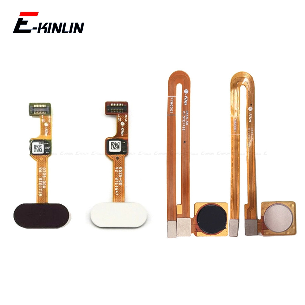 Menu Back Home Button Fingerprint Recognition FPC Sensor Flex Cable Ribbon For OnePlus 2 3 3T 5 5T Replacement Parts
