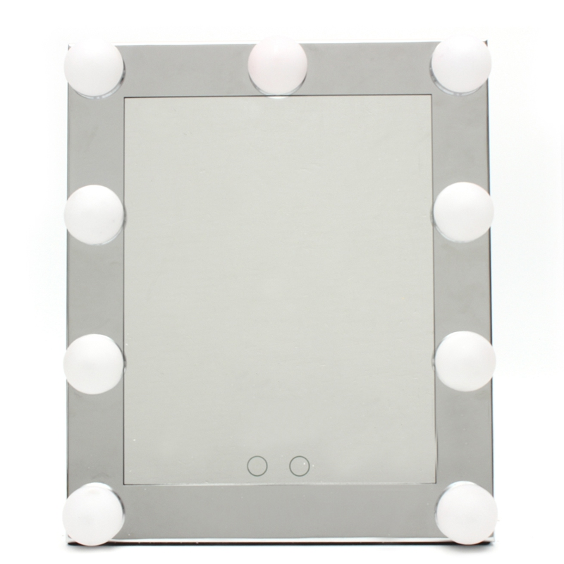 2017 New Fashion Silver LED Bulb Vanity Lighted Makeup Mirror with Dimmer  Stage Beauty Touch. Compare Prices on Makeup Mirror Bulbs  Online Shopping Buy Low