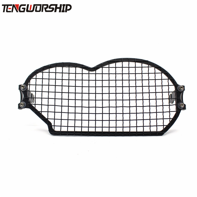 Motorcycle modification Headlight Grille Guard Cover