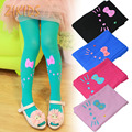 Summer Style Hello Kitty Baby Girl Velvet Tights for Girls Party Birthday Performance Dance Kids Pantyhose 2017 Children Brand