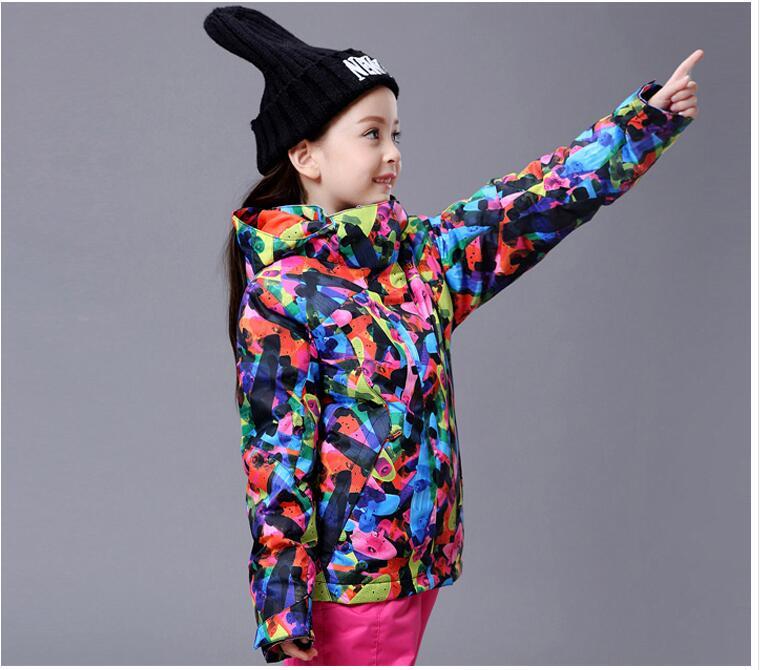 7cd064f29 2018 Gsou Snow Kids Ski Jacket Windproof Waterproof Outdoor Sport ...