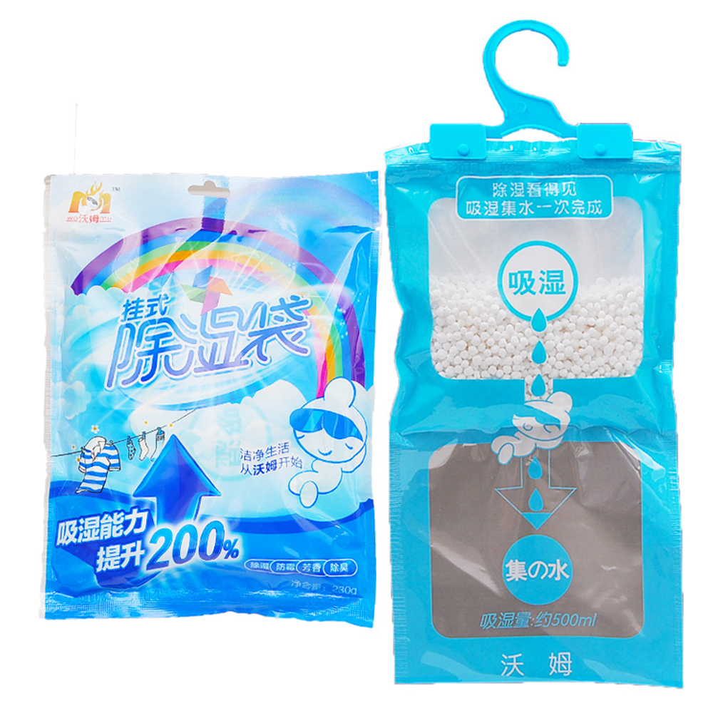 180g Wardrobe Cabinet Moldproof Dehumidification Bag Can Be Used To Hang Dehumidifier Bag Desiccant Bag Household Cleaning Tools