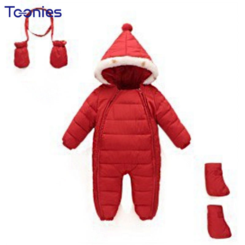 Jumpsuits Baby Clothing Newborn Boy Girl Romper Clothes Zipper Infant Products New Winter Rompers Warm Thicken Jumpsuit Cashmere newborn baby rompers autumn winter package feet baby clothes polar fleece infant overalls baby boy girl jumpsuits clothing set