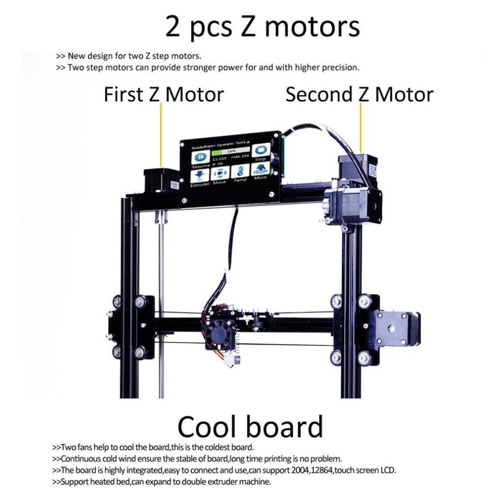 Flsun C-Plus Auto Level 3D Printer Kit Large Printing Area 300*300*420mm Dual Extruder Touch Screen DIY Printing Machine promotion price mingda new glitar 6c 300 200 600mm big 3d printer machine large 3d printing machine with touch screen lcd