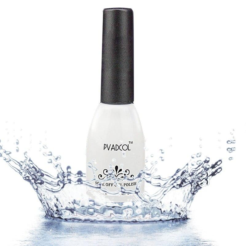 PVADCOL 15ml Reforzar el esmalte en gel Fortalecer la capa superior Base Empapar UV UV Proteger las uñas de larga duración