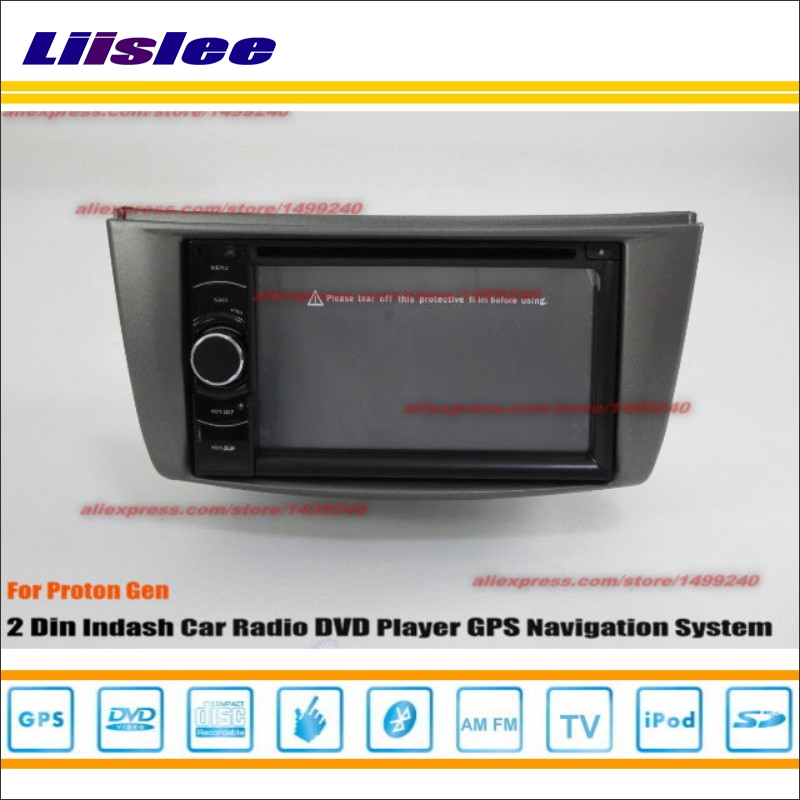 Liislee For Proton Gen 2006~2014 Car Radio Stereo CD DVD Player GPS NAVI HD Touch Screen Audio Video Navi Nav Navigation System