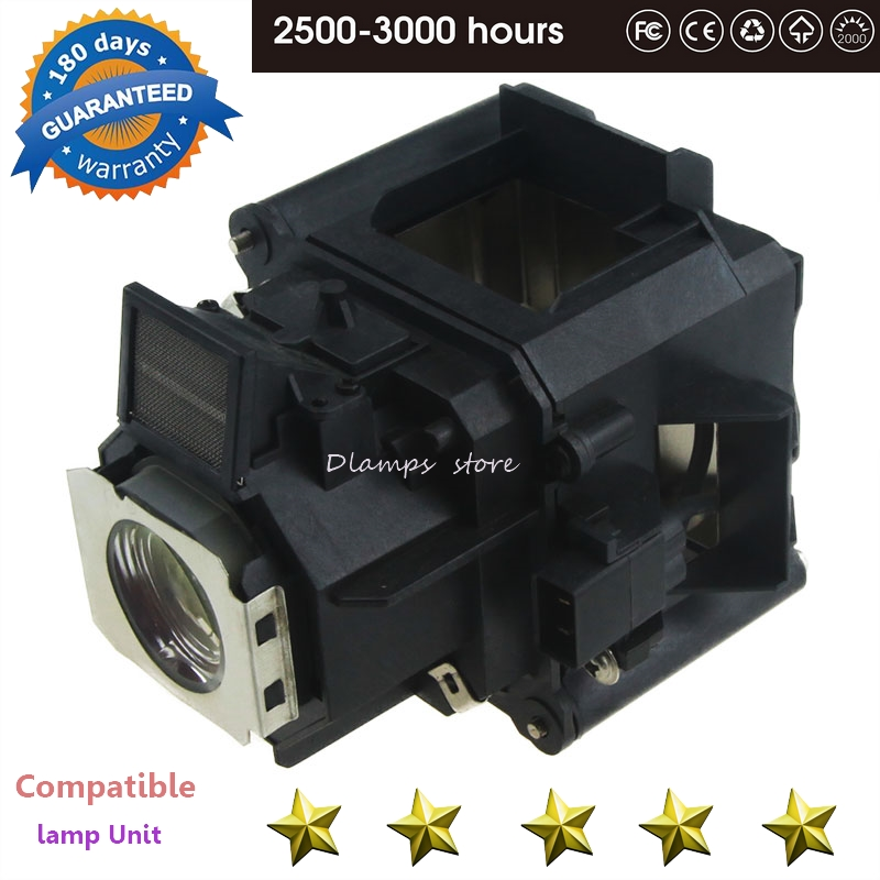 EB-G5450WU EB-G5500 EB-G5600 H346A H351A PowerLite 4100 Projector Lamp With Housing V13H010L62 ELP62 For EPSON Projectors