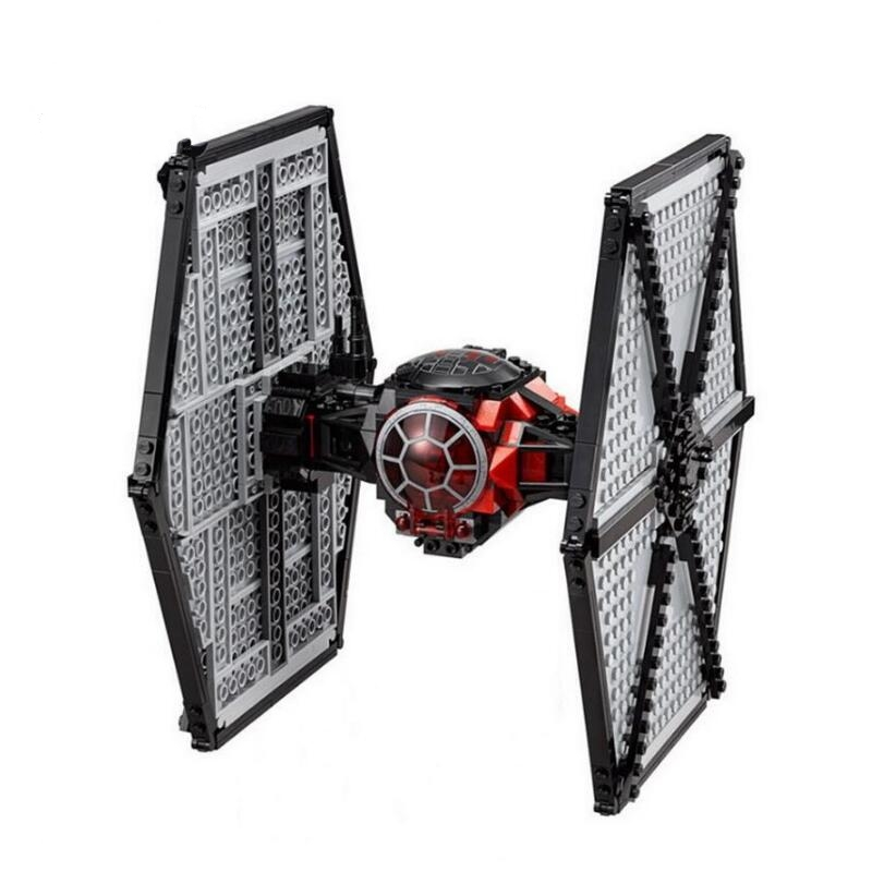 Image 2 - StarWars Imperial TIE Fighter Costruzioni Models & Building Blocks Toys for Children With Star Wars 10900 75211-in Blocks from Toys & Hobbies