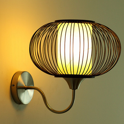 New Chinese Style Wall Mounted Sconce Led Interior Home