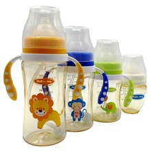 MoDo-king Baby Feeder/Feeding Bottle PPSU Milk Feeding Silicone Nipple Drinking Bottle 120/180/240/300ml Baby Sippy Cup silicone baby bottle baby milk silicone feeding bottle spoon bonus