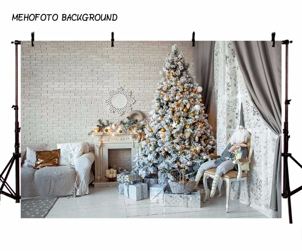 MEHOFOTO Seamless Christmas Photography Background Children Photo Backdrops Props Photo Studio 7X5FT ST-649 vinyl photo background for baby studio props wooden floor christmas photography backdrops 5x7ft or 3x5ft jiesdx005