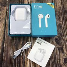 Air Pods i11 Tws Bluetooth наушники беспроводные наушники Bluetooth 5,0 наушники с сенсорным управлением гарнитура для всех смартфонов Новый i10