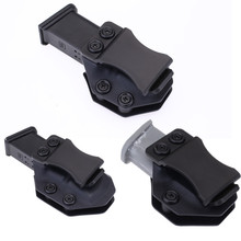 Inside The Waistband IWB Kydex Magazine Carrier Mag Holster For Glock 17 19 22 23 26 27 31 32 43 Concealed Carry 9mm gun Pouch