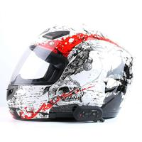 EJEAS E6 Plus Intercom ONLY Motor Interphone without Remote Control 1.2km Bluetooth Helmet Headsets VOX AUX for 6 Riders