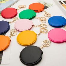 Makeup-Mirror Key-Chain Pocket Cosmetic Mini Wholesale Compact Girls Portable for 10pcs/Lot