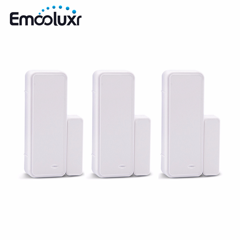 Wireless Door Window Guarding Sensor Detector Two-way Door Switch GS-WDS07 For 433MHz Home Security Detector Alarm Systems