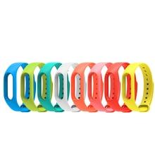 For xiaomi Mi Band 2 Bracelet Replacement wrist Strap for Xiaomi Mi Band 2 Miband 2 Colorful Strap Silicone Wristbands