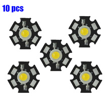 10pcs/lot 1W 3W LED Heat Sink Aluminum Base Plate PCB Board Substrate 20mm DIY LED Parts for LED Flashlight LED Bulb Spotlight