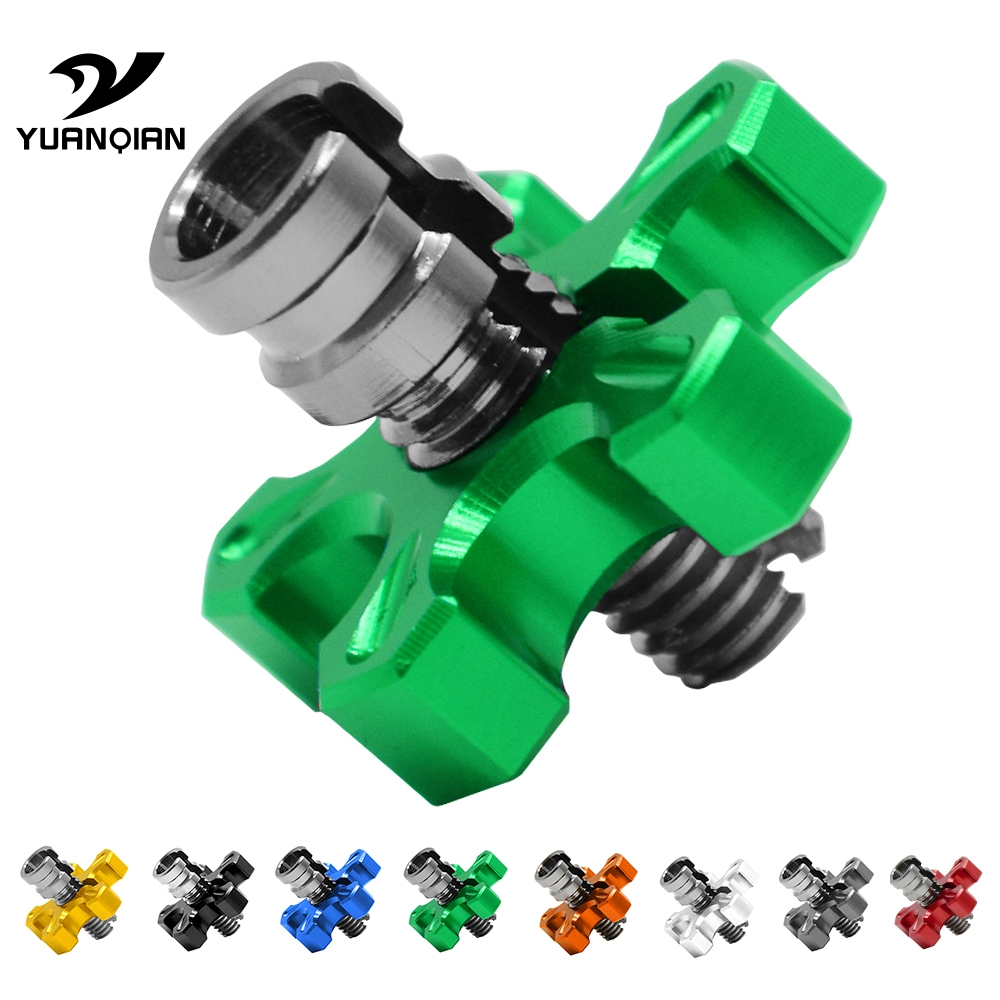 HOT 8mm-10mm Universal Motorcycle Clutch Cable Wire Adjuster RM 85 125 250 For SUZUKI RMZ 250/450 DJEBEL 250XC RMX250S