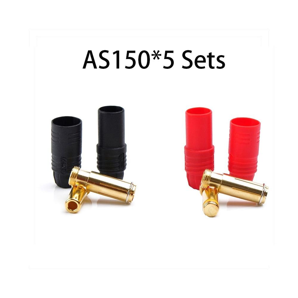 Коннектор AMASS 10 шт. XT60 XT-60 XT 60 XT90 XT60H XT60L XT60U XT60PW XT30U XT90S T Дин EC3 EC5 AS150 XT150 XT30PW XT90PW для Lipo Батарея - Цвет: AS150