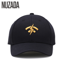 Фотография Brand NUZADA Embroidery Baseball Cap For Men Women Double Layer Bone 6 Colors Spring Summer Caps Cotton Snapback Cotton Hats