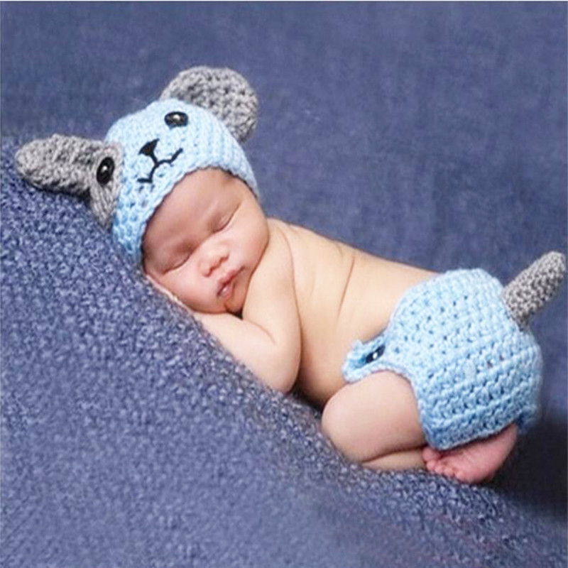 Crochet Hammock Baby Photography Props Knitted Hanging Bed for Photo Studios New