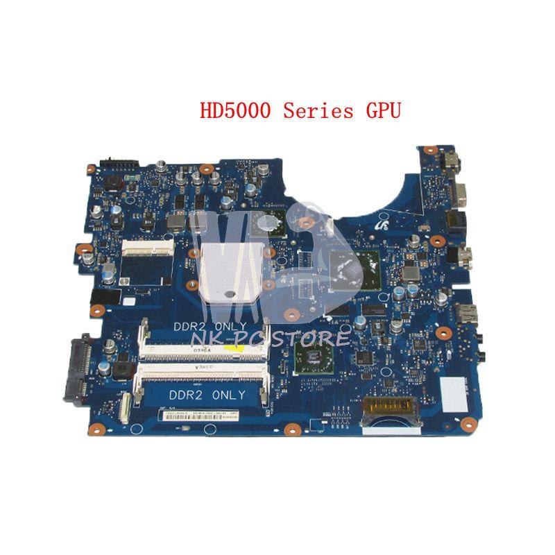 NOKOTION BREMEN-D For Samsung NP-R525 R525 Laptop Motherboard DDR2 HD5000 GPU Free cpu BA92-06014A BA92-06014B