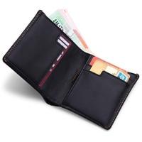Modern Luxury Brand Genuine Leather Super Slim Men Wallets Money Organizer Wallet Clutch Women Fashion Designer