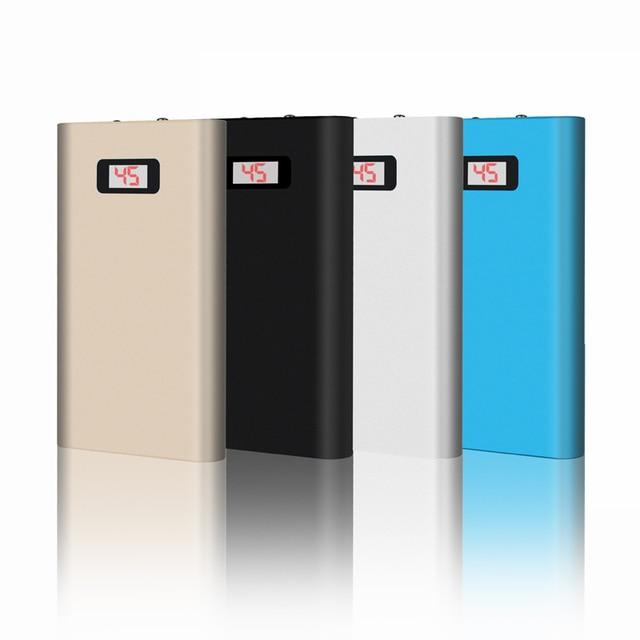DCAE Новая Власть Банк 10000 мАч Портативный Металлический Корпус ЖК-Дисплей Литий-Полимерный Внешнее Зарядное Устройство Powerbank Для Всех телефон