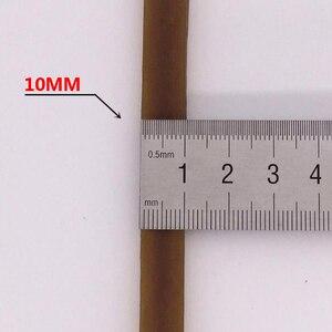 Image 3 - 20 חתיכות רחב 10mm חום גומי גומייה חזקה משרד בית ספר אספקת מכתבים אביזרי גבוהה באיכות 200mm גומי להקות