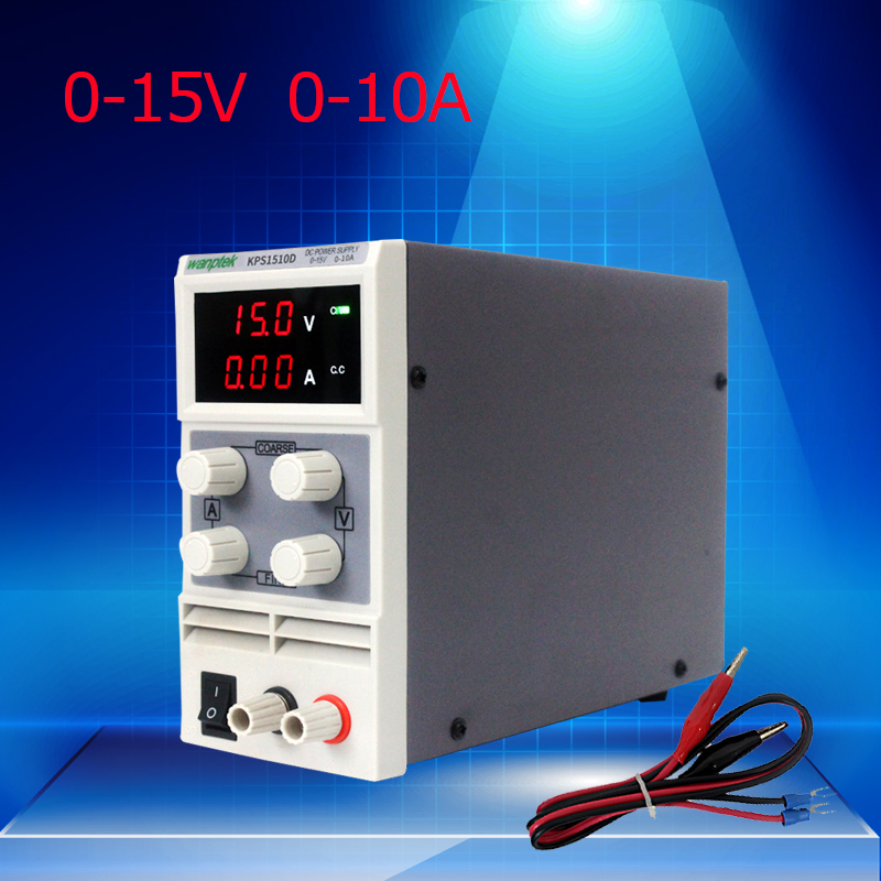 kps1510df 15v 10a digital adjustable dc power supply display mini switching dc power supply for laboratory 15V 10A Mini Digital DC Power, Adjustable Power Supply 0.1V 0.01A Switch laboratory Scientific Voltage Regulators