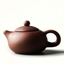 Chinesische Teekanne Yixing Teekanne Keramik Kaffee Teekanne Porzellan Zisha lila Tee Wasserkocher China Kung Fu Tee-Set Wohnkultur D011