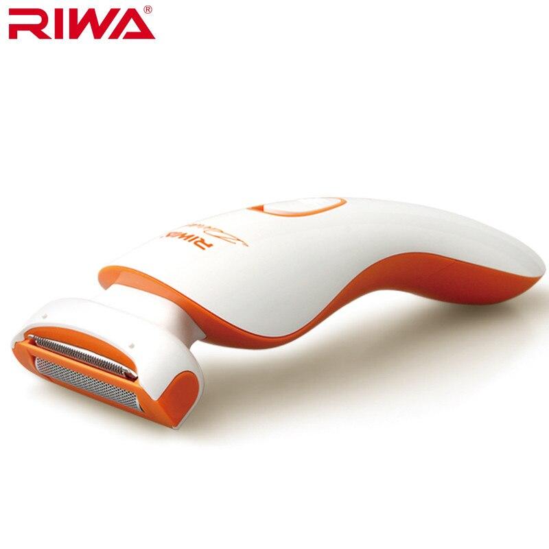 Lady shaver Women Beauty trimmer Floatable foil shaving Hair Removal bikini underarm battery operation Riwa RF-770B
