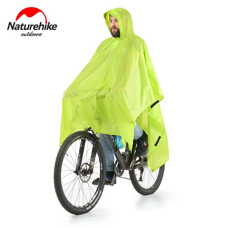 Naturehike  3 in 1 Multifunction Poncho  Raincoat For Hiking Fishing Mountaineering