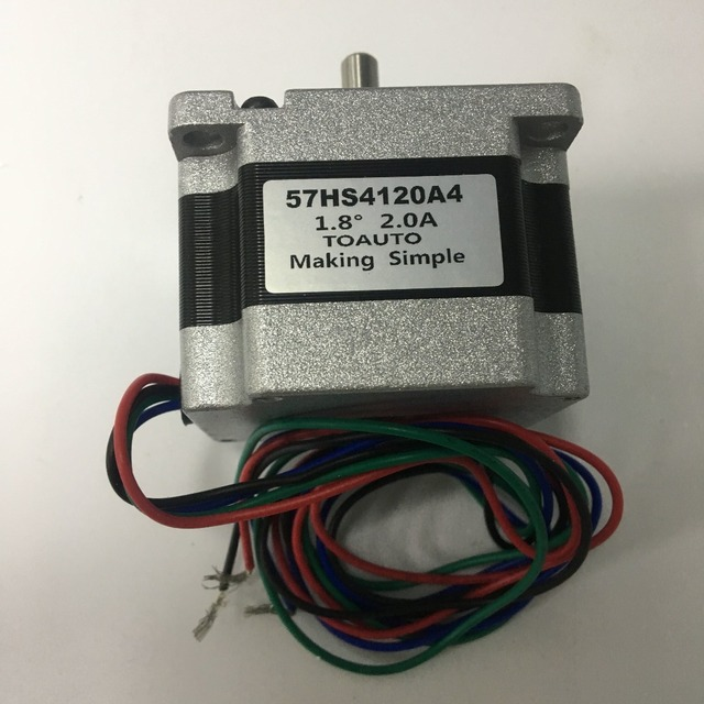 2A Stepper Motor Nema 23 Two Phases 1.8 degree 41mm Motor for Laser Marking Machine 0.55NM/ 79oz.in