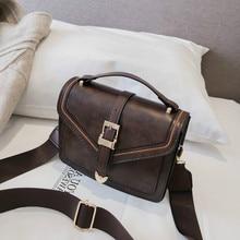 Tide Single Shoulder leather Satchel Small Square gift Package luxury handbag women bags designer bolsa feminina sac bag female