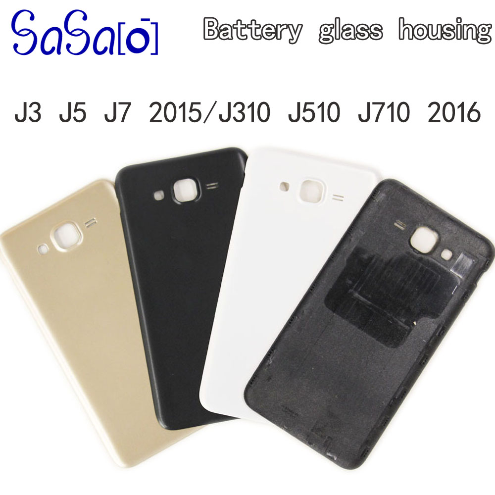 J3 J5 J7 2015 Back Battery Rear Cover Replacement For Samsung Galaxy J310 J510 J710 2016